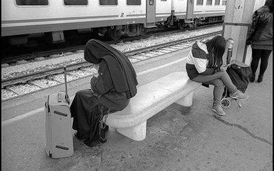 6. Train station Umbria - Italy 2014